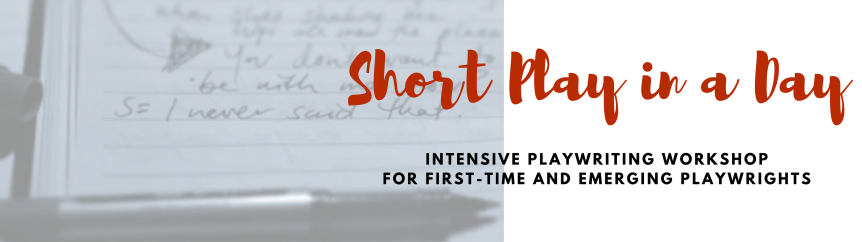 Smash out a short play in our workshop.